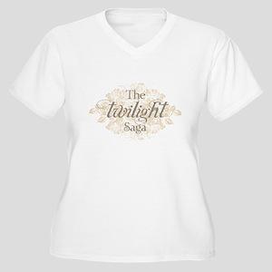 The Twilight Saga Women's Plus Size V-Neck T-Shirt
