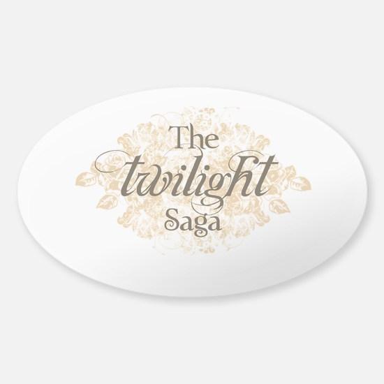 The Twilight Saga Sticker (Oval)