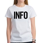 Info (black) Women's T-Shirt
