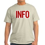 Info (red) Light T-Shirt