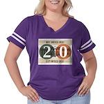 Vote Trump 2020 Women's Plus Size Football T-Shirt