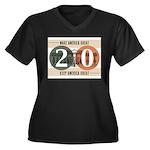 Vote Trump 2020 Plus Size T-Shirt
