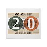 Vote Trump 2020 Throw Blanket