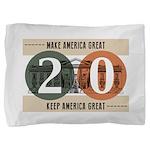 Vote Trump 2020 Pillow Sham