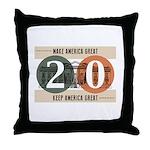 Vote Trump 2020 Throw Pillow