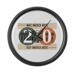 Vote Trump 2020 Large Wall Clock