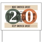 Vote Trump 2020 Yard Sign