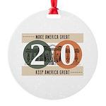 Vote Trump 2020 Ornament
