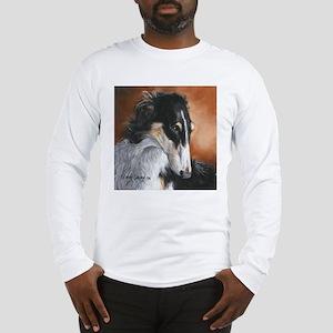 Borzoi by Dawn Secord Long Sleeve T-Shirt