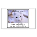 Heartless Sticker (Rectangle 50 pk)