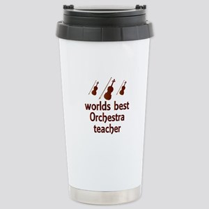 Worlds Best Orchestra Teacher Stainless Steel Trav