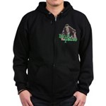 Hair Peace Zip Hoodie (dark)