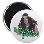 "Hair Peace 2.25"" Magnet (10 pack)"