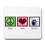 Peace Love Drums Mousepad
