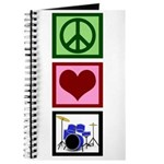 Peace Love Drums Journal