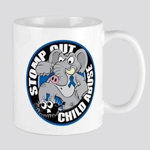 Stomp Out Child Abuse Mug