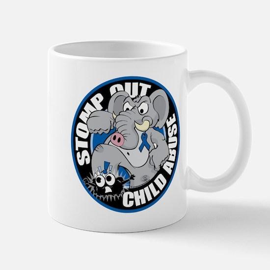 Stomp Out Child Abuse Mug
