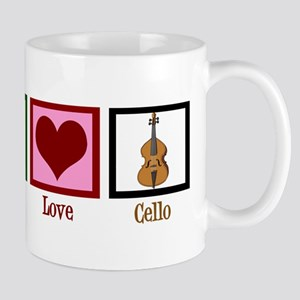 Peace Love Cello Mug