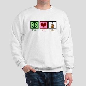 Peace Love Cello Sweatshirt