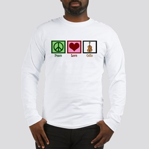 Peace Love Cello Long Sleeve T-Shirt