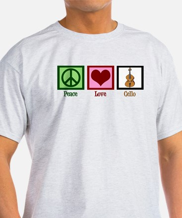 Peace Love Cello T-Shirt