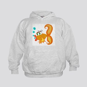 Fannie the fish kids hoodie (By The Pond)