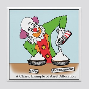 Clown Allocation Tile Coaster