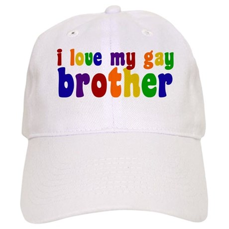 I Love My Gay Brother Cap