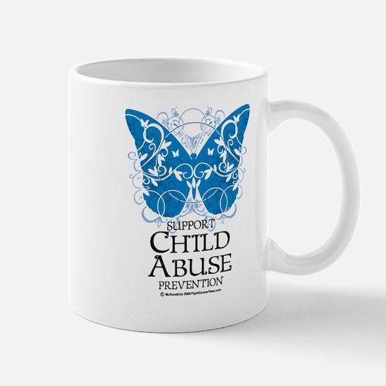 Child Abuse Butterfly Mug