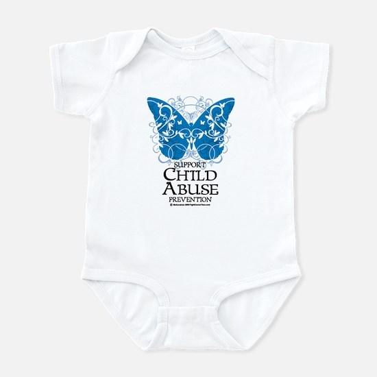 Child Abuse Butterfly Infant Bodysuit