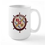 USS BRUSH Large Mug