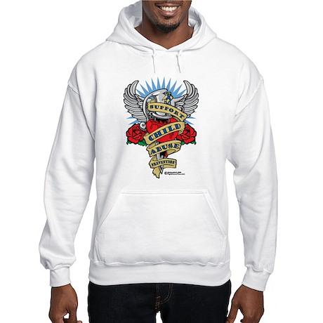 Child Abuse Dagger Hooded Sweatshirt