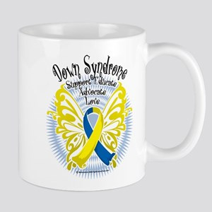 Down Syndrome Butterfly 3 Mug