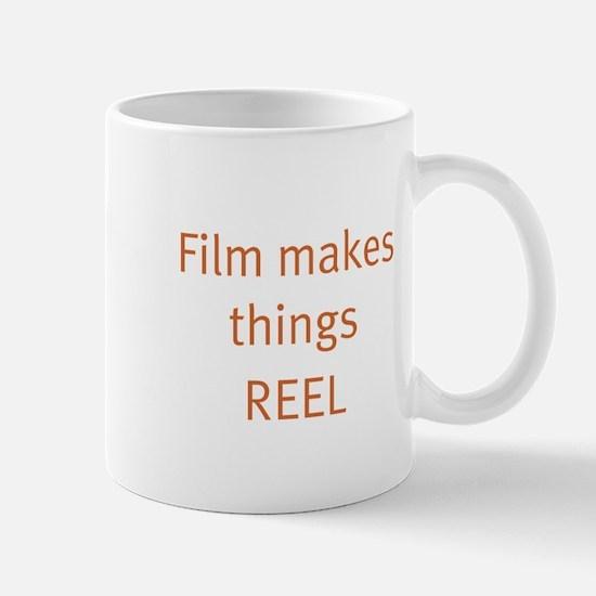 Film makes things reel Mug