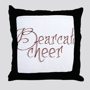 BEARCAT CHEER *18* Throw Pillow