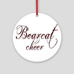 BEARCAT CHEER *17* Ornament (Round)