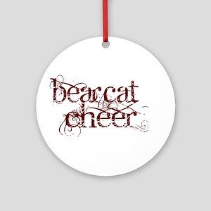 BEARCAT CHEER *12* Ornament (Round)