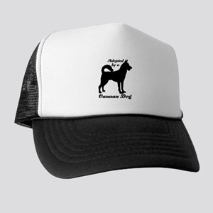 ADOPTED by a Canaan Dog Trucker Hat