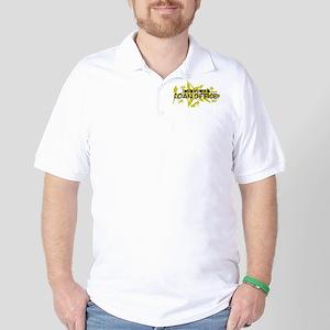I ROCK THE S#%! - LOAN OFFICE Golf Shirt