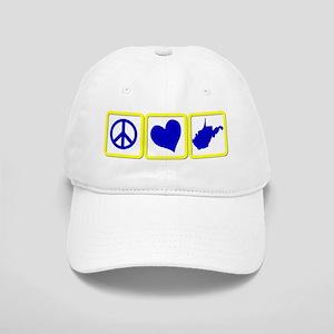 PEACE-LOVE-WV Cap