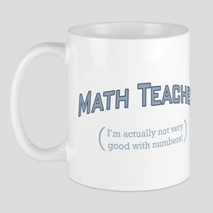 Math / Numbers Mug