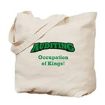 Auditing / Kings Tote Bag