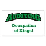 Auditing / Kings Sticker (Rectangle)