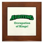 Auditing / Kings Framed Tile