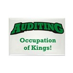 Auditing / Kings Rectangle Magnet (10 pack)