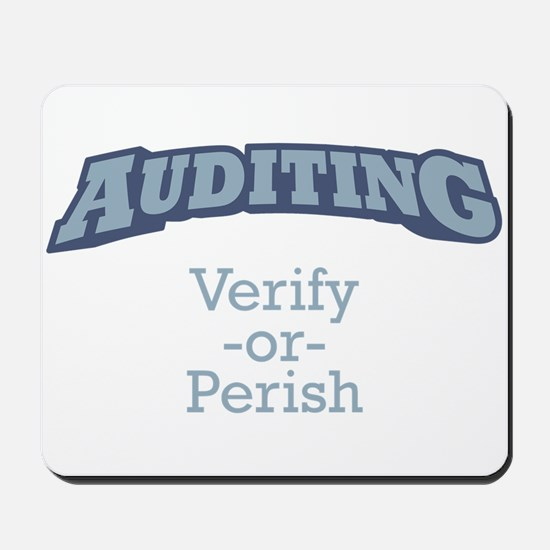 Auditing / Verify Mousepad