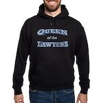 Queen Lawyer Hoodie (dark)