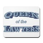 Queen Lawyer Mousepad
