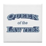 Queen Lawyer Tile Coaster