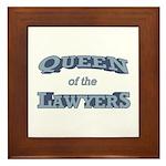 Queen Lawyer Framed Tile